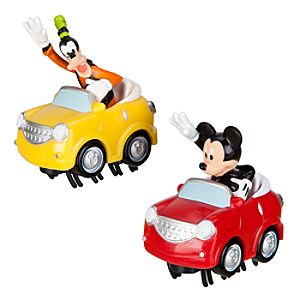 Mickey Mouse and Goofy Bumper Cars