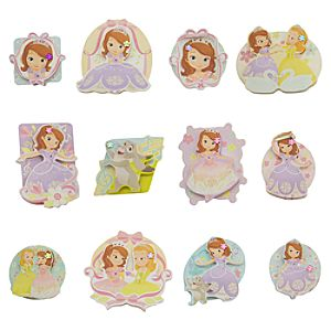 Sofia the First 3-D Sticker Set