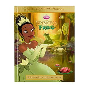 The Princess and the Frog Read-Aloud Storybook Limited Collector's Edition