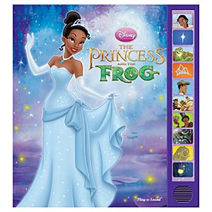 The Princess and the Frog Play-a-Sound Book