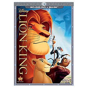 Pre-Order Diamond Edition 2-Disc The Lion King Blu-ray Combo Pack with FREE Lithograph Offer