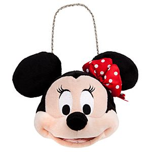 Plush Minnie Mouse Purse