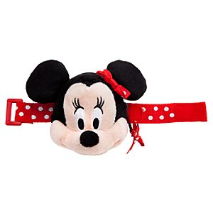 Plush Minnie Mouse Bracelet Purse
