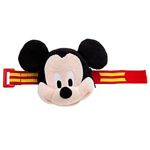 Plush Mickey Mouse Bracelet Purse
