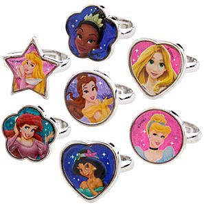 Disney Princess Ring Set -- 7-Pc.