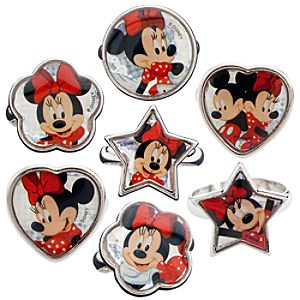 Minnie Mouse Ring Set -- 7-Pc.