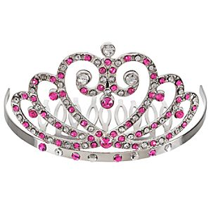 Disney Princess Tiara Haircomb -- Pink
