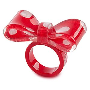Bow Minnie Mouse Ring