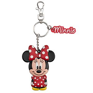 Bow Minnie Mouse Keychain
