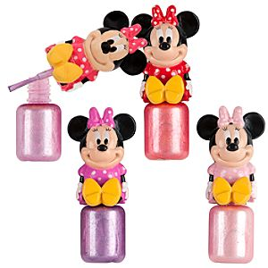 Bow Minnie Mouse Nail Polish Set -- 4-Pc.