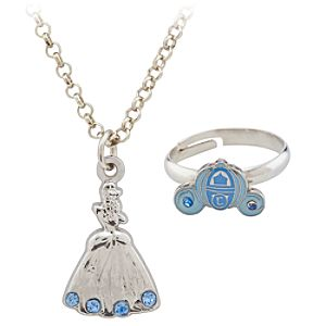 Cinderella Ring and Necklace Set