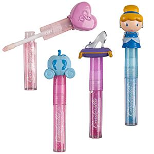 Cinderella Lip Gloss Set -- 4-Pc.