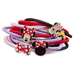 Minnie Mouse Hair Band Set -- 12-Pc.
