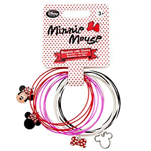 Minnie Mouse Charm Bracelet Set for Girls