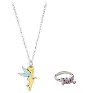 Tinker Bell Necklace and Ring Set