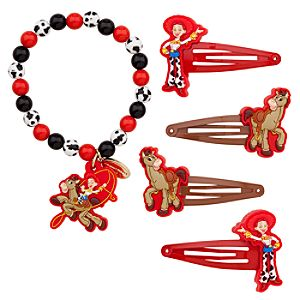 Jessie Bracelet and Hair Clips Set