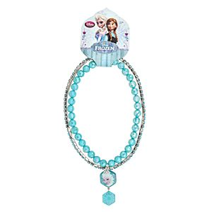 Anna and Elsa Necklace Set - Frozen