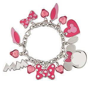 Minnie Mouse Charm Bracelet