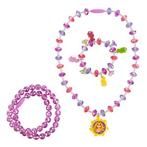 Rapunzel Necklace and Bracelet Set