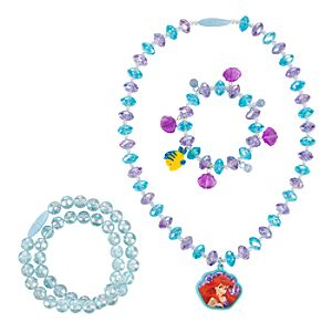 Ariel Necklace and Bracelet Set