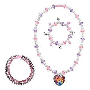 Disney Princess Necklace and Bracelet Set