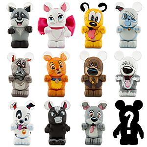 Vinylmation Furry Friends Series Figures -- 3