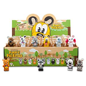 Vinylmation Furry Friends Series Figures - 3 - Tray of 24-Pc.