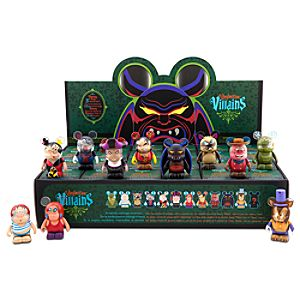 Vinylmation Villains 3 Series Tray 3 Figures -- 24-Pc.