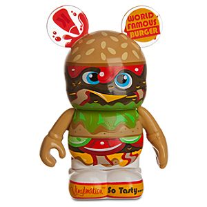 So Tasty! Bacon Cheeseburger Vinylmation Figure -- 3