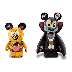 Vinylmation Spooky 2 Series 3 Figure Set -- Goofy and Pluto