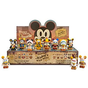 Vinylmation Mickeys Wild West Series Tray - 24-Pc.