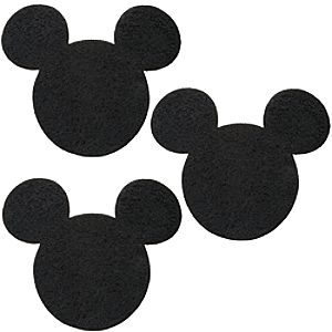 Mickey Mouse Stepping Stone Set -- 3-Pc.