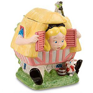 Larger-than-Life Alice in Wonderland Cookie Jar