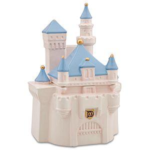 Cinderella Castle Cookie Jar