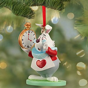 White Rabbit Sketchbook Ornament