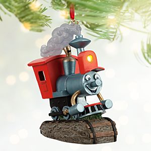 Casey Jr. Circus Train Sketchbook Ornament