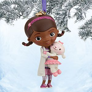 Doc McStuffins Sketchbook Ornament