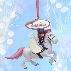 Sofia and Minimus Sketchbook Ornament - Personalizable