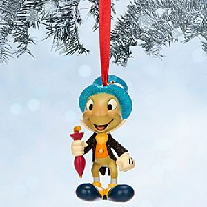 Jiminy Cricket Sketchbook Ornament