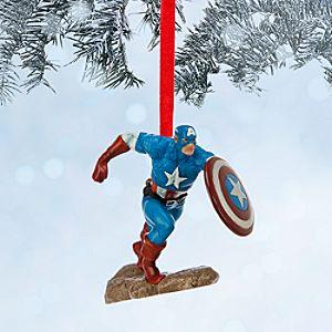 Captain America Sketchbook Ornament