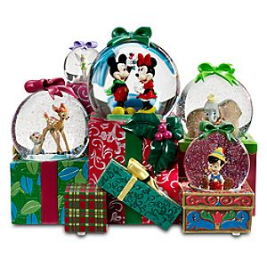 From All of Us to All of You World of Disney Snowglobe -- 5-Pc