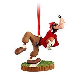 Football Player Goofy Ornament