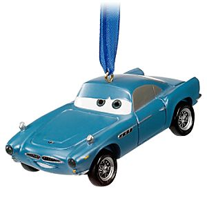 Light-Up Cars 2 Finn McMissile Ornament