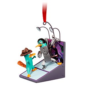 Phineas and Ferb: Across the Second Dimension Agent P and Plataborg Ornament