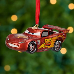 Lightning McQueen Sketchbook Ornament