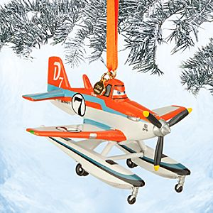 Dusty Sketchbook Ornament - Planes: Fire & Rescue