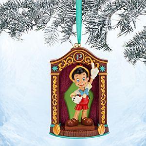 Pinocchio Sketchbook Ornament