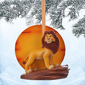 Simba Sketchbook Ornament - The Lion King 20th Anniversary