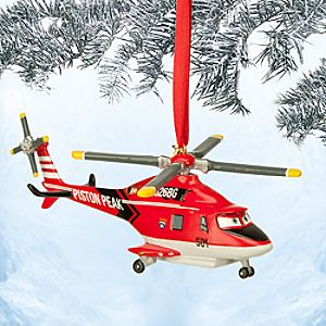 Blade Sketchbook Ornament - Planes: Fire & Rescue