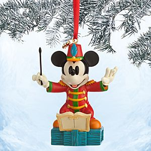 Mickey Mouse Sketchbook Ornament - The Band Concert